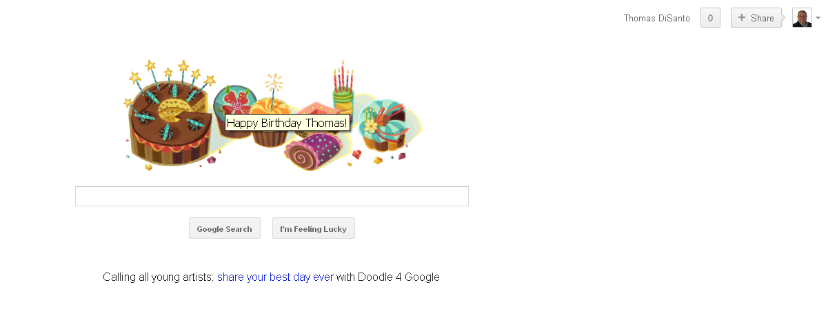 Thank You Google For The Birthday Wishes Big Brother